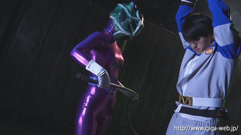 悪女星人クロウザー ヒーロー陥落009