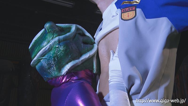 悪女星人クロウザー ヒーロー陥落013