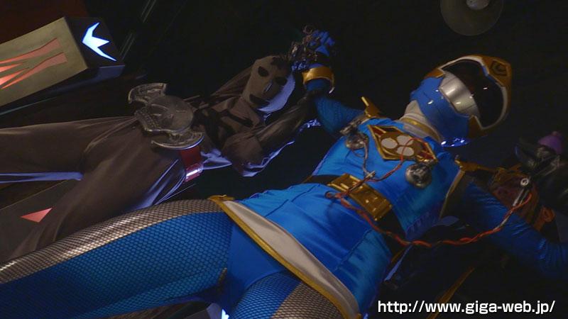完全着衣ヒロイン陥落04 飛影戦隊カゲレンジャー ~カゲブルーを襲う呪い地獄~006