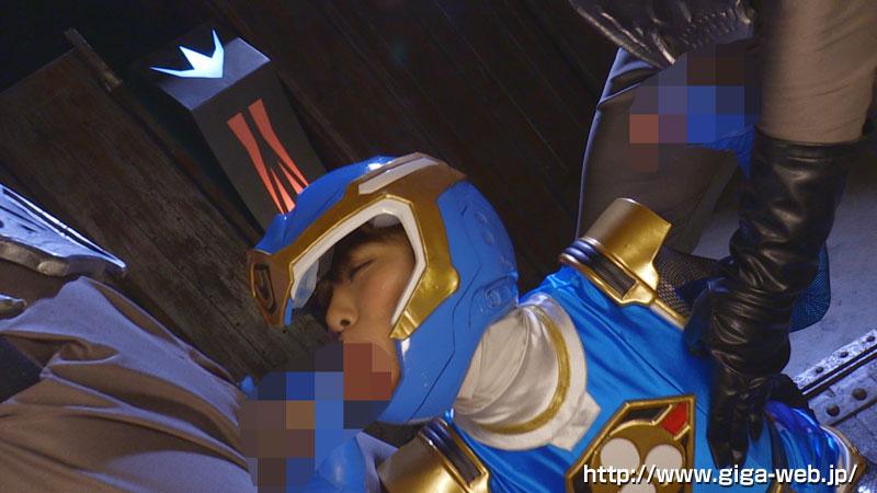 完全着衣ヒロイン陥落04 飛影戦隊カゲレンジャー ~カゲブルーを襲う呪い地獄~008