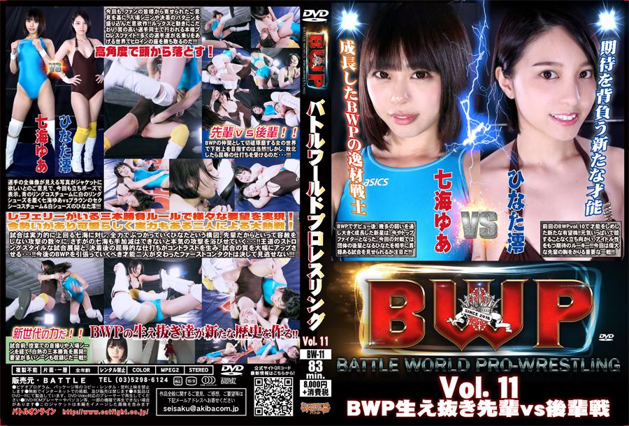 BWP バトルワールドプロレスリング Vol.11 BWP生え抜き先輩vs後輩戦