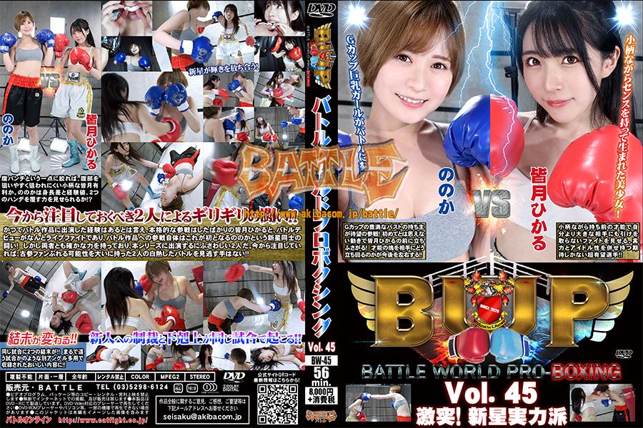 バトルワールドプロボクシング Vol.45 激突!新星実力派