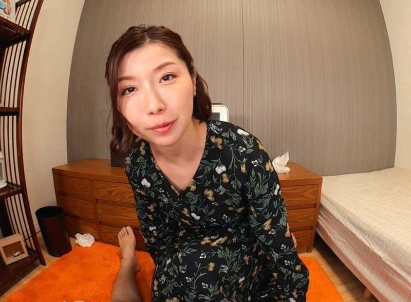 【VR】夜●いお義母さん~オイルマッサージで入ってしまったスケベスイッチ~加藤ツバキ