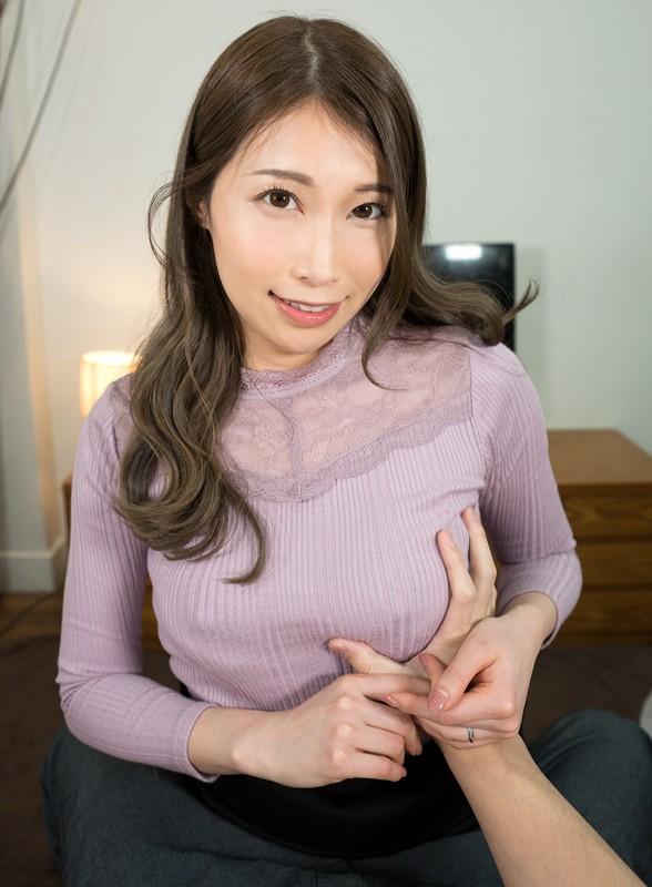 【VR】兄の留守中に兄嫁の由美香さんにイタズラしたら逆に淫語で挑発されてもう我慢できない 佐伯由美香
