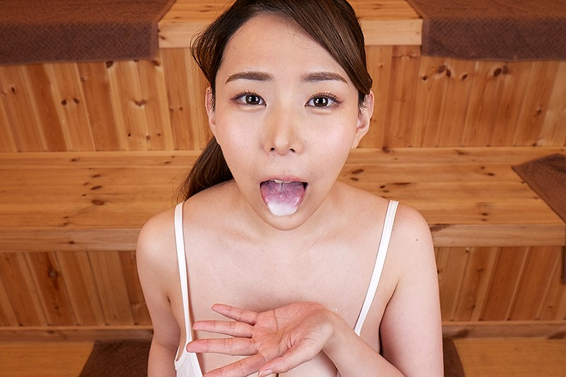【VR】摂氏100℃ 汗だく密室性交 爆乳サウナレディ 吉根ゆりあ