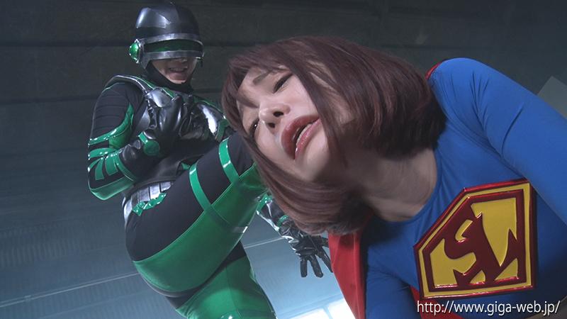 スーパーレディーVS鉱石怪人 ~無力化されたヒロイン~006