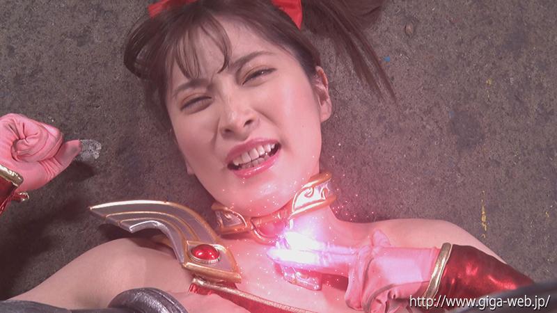 ヒロイン乳首責め 美少女戦士チアナイツ 傷つけられた乳首で何度もイカされて013