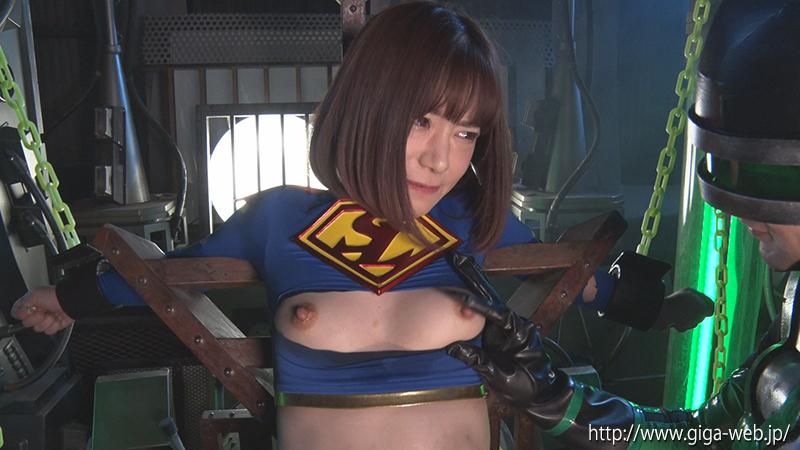 スーパーレディーVS鉱石怪人 ~無力化されたヒロイン~028