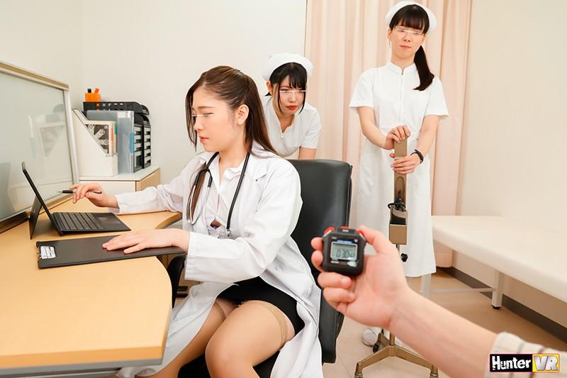 【VR】 そなたに時間を止める能力を授けよう!謎のストップウォッチで時間を止めて、ナースも女医もかわいい入院患者も好き放題のヤリ放題!!時間停止VR 病院編