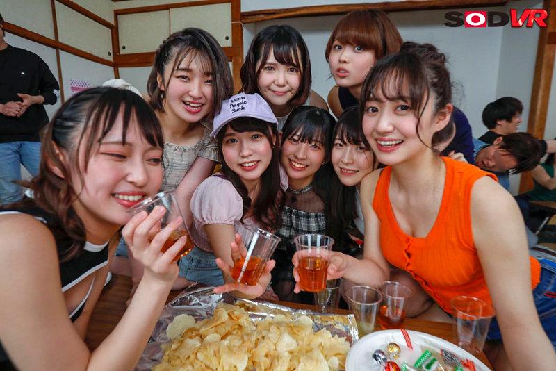 【VR】【今年最大級大乱交VR】ヤリサー合宿旅行 12名の女子大生と4時間30分ハメざかりSP