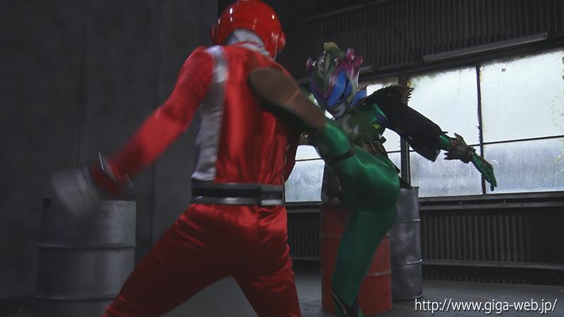 悪の女幹部ヒーロー陥落 冥獣拳ヒルバ002