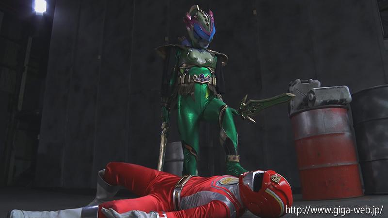 悪の女幹部ヒーロー陥落 冥獣拳ヒルバ005