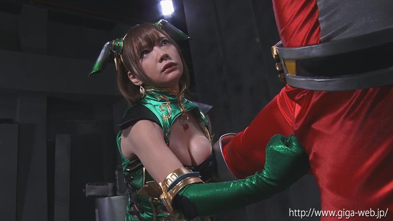 悪の女幹部ヒーロー陥落 冥獣拳ヒルバ006