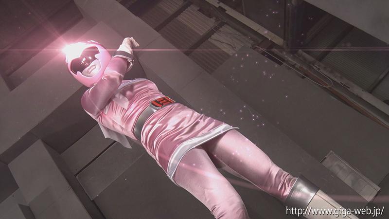 ヒロイン洗脳Vol.25 磁力戦隊マグナマン ブルーを狙うピンクの魔の手008