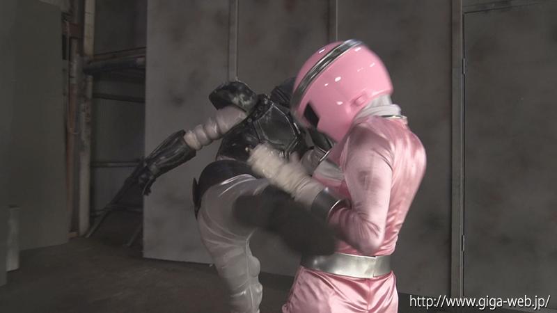 ヒロイン洗脳Vol.25 磁力戦隊マグナマン ブルーを狙うピンクの魔の手009
